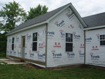 New Vinyl Siding Installation On A Home Built In 1915