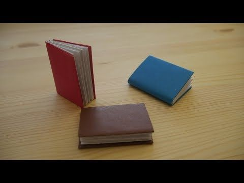 Origami. How to make a book out of paper (video lesson)