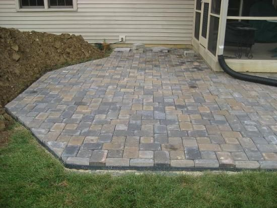 New Patio Project