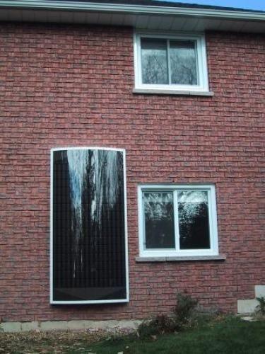 Installing Solar Air Heater