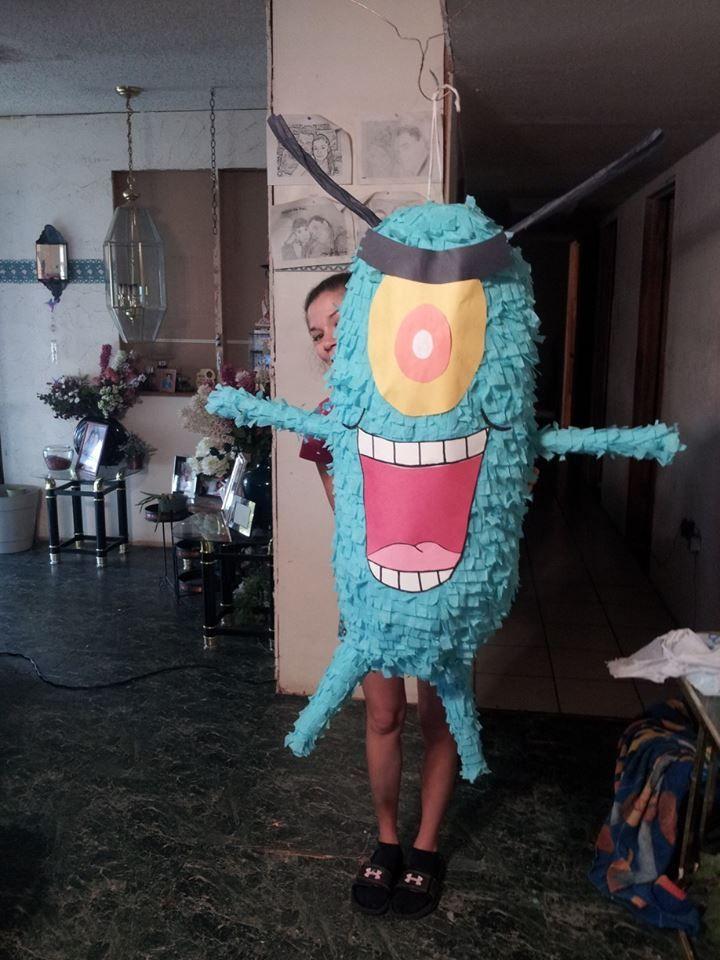Plankton Pinata!
